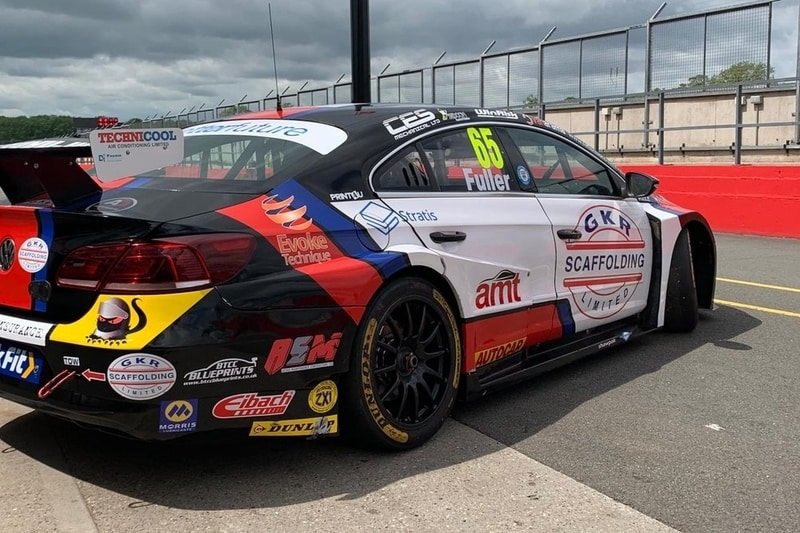 HOWARD FULLER RETURNS TO BTCC ACTION IN TEAM HARD TEST
